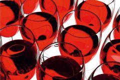 FTN XXL 0415 cikkszámú tapéta.Konyha-fürdőszobai,különleges motívumos,fehér,fekete,piros-bordó,vlies poszter, fotótapéta