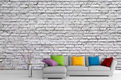 FTN XXL 2402 cikkszámú tapéta.Kőhatású-kőmintás,fehér,szürke,vlies poszter, fotótapéta