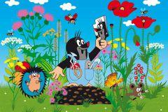 FTN XXL 2422 cikkszámú tapéta.állatok,gyerek,rajzolt,fehér,fekete,kék,pink-rózsaszín,piros-bordó,sárga,zöld,vlies poszter, fotótapéta