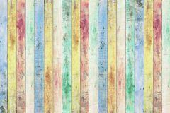 FTN XXL 2430 cikkszámú tapéta.Fa hatású-fa mintás,bézs-drapp,fehér,kék,sárga,zöld,vlies poszter, fotótapéta