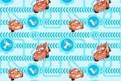 WPD9700 cikkszámú tapéta.Gyerek,kék,piros-bordó,sárga,gyengén mosható,vlies tapéta