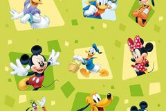 WPD9716 cikkszámú tapéta.állatok,geometriai mintás,gyerek,fekete,piros-bordó,sárga,zöld,gyengén mosható,vlies tapéta