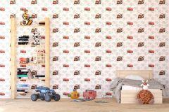 WPD9730 cikkszámú tapéta.Gyerek,barna,fehér,fekete,piros-bordó,szürke,gyengén mosható,vlies tapéta