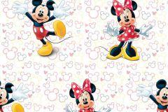 WPD9748 cikkszámú tapéta.Gyerek,fekete,pink-rózsaszín,sárga,szürke,vajszínű,gyengén mosható,vlies tapéta