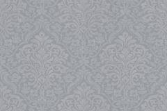 32480-1 cikkszámú tapéta.Barokk-klasszikus,különleges felületű,szürke,gyengén mosható,vlies tapéta