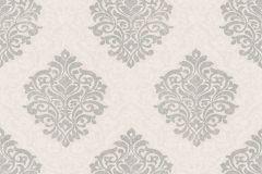 32480-3 cikkszámú tapéta.Barokk-klasszikus,különleges felületű,bézs-drapp,ezüst,szürke,gyengén mosható,vlies tapéta
