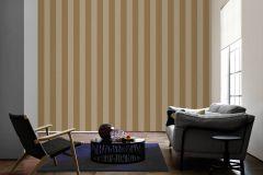 33581-2 cikkszámú tapéta.Csíkos,dekor,különleges felületű,különleges motívumos,plüss felületű,velúr felületű,arany,bézs-drapp,illesztés mentes,vlies tapéta