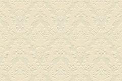 33582-1 cikkszámú tapéta.Barokk-klasszikus,különleges felületű,különleges motívumos,plüss felületű,velúr felületű,bézs-drapp,vajszín,vlies tapéta