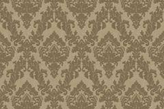 33582-4 cikkszámú tapéta.Barokk-klasszikus,különleges felületű,plüss felületű,velúr felületű,arany,barna,vlies tapéta