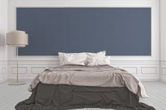 2902-67 cikkszámú tapéta.Barokk-klasszikus,csillámos,textilmintás,valódi textil,barna,kék,gyengén mosható,vlies tapéta
