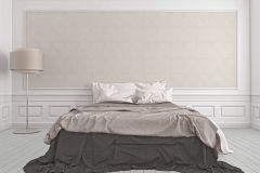 2904-10 cikkszámú tapéta.Barokk-klasszikus,csillámos,valódi textil,bézs-drapp,fehér,gyengén mosható,vlies tapéta