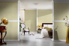 2905-33 cikkszámú tapéta.Barokk-klasszikus,csillámos,valódi textil,sárga,zöld,gyengén mosható,vlies tapéta
