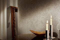2906-18 cikkszámú tapéta.Barokk-klasszikus,csillámos,valódi textil,bézs-drapp,fehér,vajszínű,gyengén mosható,vlies tapéta