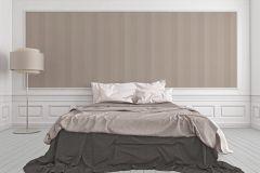 2907-48 cikkszámú tapéta.Csíkos,valódi textil,barna,szürke,illesztés mentes,gyengén mosható,vlies tapéta