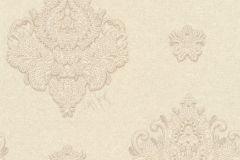 33928-5 cikkszámú tapéta.Különleges felületű,metál-fényes,rajzolt,textil hatású,bézs-drapp,vajszín,súrolható,vlies tapéta