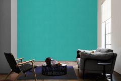 33929-4 cikkszámú tapéta.Dekor,egyszínű,gyerek,különleges felületű,textil hatású,textilmintás,kék,türkiz,zöld,súrolható,illesztés mentes,vlies tapéta