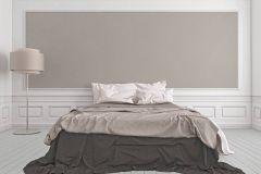 33929-5 cikkszámú tapéta.Dekor,egyszínű,metál-fényes,textil hatású,textilmintás,barna,szürke,súrolható,illesztés mentes,vlies tapéta