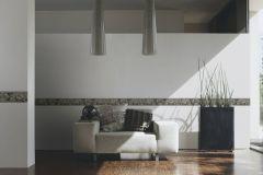 34078-2 cikkszámú tapéta.Barokk-klasszikus,különleges felületű,különleges motívumos,metál-fényes,rajzolt,természeti mintás,virágmintás,barna,bronz,ezüst,sárga,vlies bordűr