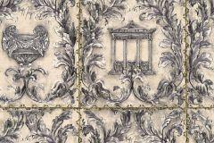 34086-2 cikkszámú tapéta.Különleges felületű,különleges motívumos,metál-fényes,rajzolt,természeti mintás,textil hatású,ezüst,fehér,szürke,vajszín,súrolható,vlies tapéta