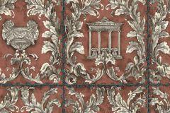 34086-5 cikkszámú tapéta.Barokk-klasszikus,különleges felületű,különleges motívumos,metál-fényes,rajzolt,természeti mintás,textil hatású,barna,bronz,ezüst,fehér,szürke,súrolható,vlies tapéta