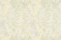 34375-1 cikkszámú tapéta.Barokk-klasszikus,különleges felületű,különleges motívumos,retro,kék,sárga,szürke,zöld,súrolható,vlies tapéta