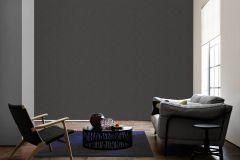 34778-2 cikkszámú tapéta.Dekor,egyszínű,különleges felületű,metál-fényes,fekete,szürke,súrolható,illesztés mentes,vlies tapéta