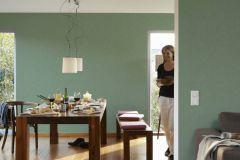 34778-3 cikkszámú tapéta.Dekor,egyszínű,gyerek,különleges felületű,zöld,illesztés mentes,súrolható,vlies tapéta