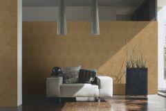 35110-4 cikkszámú tapéta.Barokk-klasszikus,különleges felületű,metál-fényes,arany,barna,súrolható,vlies tapéta