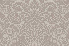 30545-2 cikkszámú tapéta.Barokk-klasszikus,gyöngyös,különleges felületű,metál-fényes,barna,gyöngyház,vlies tapéta