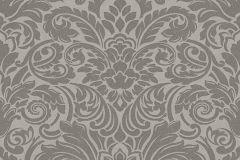 30545-3 cikkszámú tapéta.Barokk-klasszikus,különleges felületű,metál-fényes,gyöngyház,szürke,vlies tapéta
