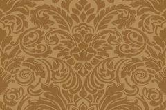 30545-4 cikkszámú tapéta.Barokk-klasszikus,gyöngyös,különleges felületű,metál-fényes,arany,sárga,vlies tapéta
