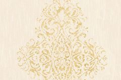 31945-2 cikkszámú tapéta.Barokk-klasszikus,valódi textil,arany,bézs-drapp,gyengén mosható,vlies tapéta
