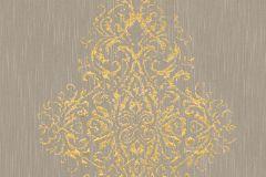 31945-3 cikkszámú tapéta.Barokk-klasszikus,valódi textil,arany,barna,gyengén mosható,vlies tapéta