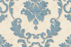 32422-2 cikkszámú tapéta.Barokk-klasszikus,fémhatású - indusztriális,különleges felületű,barna,kék,szürke,súrolható,vlies tapéta