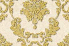 32422-3 cikkszámú tapéta.Barokk-klasszikus,fémhatású - indusztriális,különleges felületű,arany,bézs-drapp,súrolható,vlies tapéta