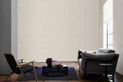 9651-27 cikkszámú tapéta.Egyszínű,textilmintás,valódi textil,bézs-drapp,vajszín,gyengén mosható,illesztés mentes,vlies tapéta