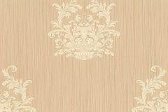 95861-1 cikkszámú tapéta.Barokk-klasszikus,csíkos,különleges felületű,különleges motívumos,textilmintás,bézs-drapp,vajszínű,súrolható,vlies tapéta