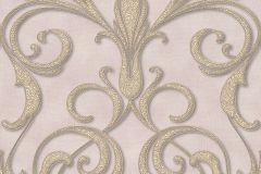 95892-2 cikkszámú tapéta.Barokk-klasszikus,különleges motívumos,arany,barna,lila,vajszínű,súrolható,vlies tapéta