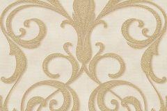 95892-5 cikkszámú tapéta.Barokk-klasszikus,különleges felületű,különleges motívumos,arany,barna,bézs-drapp,vajszínű,súrolható,vlies tapéta