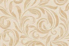 95940-4 cikkszámú tapéta.Barokk-klasszikus,különleges felületű,természeti mintás,bézs-drapp,vajszín,vlies tapéta