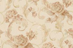 95983-3 cikkszámú tapéta.Barokk-klasszikus,természeti mintás,virágmintás,barna,bézs-drapp,vajszín,súrolható,vlies tapéta