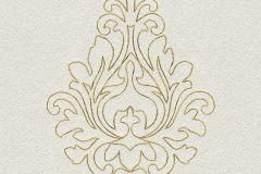 96982-1 cikkszámú tapéta.Barokk-klasszikus,csillámos,különleges felületű,különleges motívumos,arany,ezüst,súrolható,illesztés mentes,vlies tapéta
