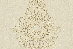 96982-2 cikkszámú tapéta.Barokk-klasszikus,különleges felületű,különleges motívumos,arany,sárga,súrolható,illesztés mentes,vlies tapéta