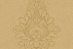 96982-3 cikkszámú tapéta.Barokk-klasszikus,különleges felületű,különleges motívumos,arany,barna,súrolható,illesztés mentes,vlies tapéta
