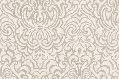 96193-3 cikkszámú tapéta.Barokk-klasszikus,valódi textil,bézs-drapp,fehér,szürke,gyengén mosható,vlies tapéta