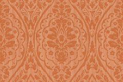96195-2 cikkszámú tapéta.Barokk-klasszikus,valódi textil,narancs-terrakotta,gyengén mosható,vlies tapéta