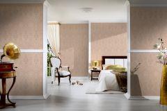 96195-3 cikkszámú tapéta.Barokk-klasszikus,valódi textil,barna,bézs-drapp,gyengén mosható,vlies tapéta