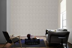 96195-5 cikkszámú tapéta.Barokk-klasszikus,valódi textil,szürke,gyengén mosható,vlies tapéta