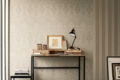 96195-6 cikkszámú tapéta.Barokk-klasszikus,valódi textil,barna,szürke,gyengén mosható,vlies tapéta