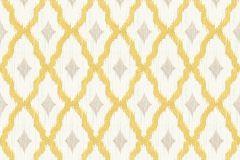 96197-3 cikkszámú tapéta.Barokk-klasszikus,valódi textil,barna,bézs-drapp,fehér,sárga,gyengén mosható,vlies tapéta